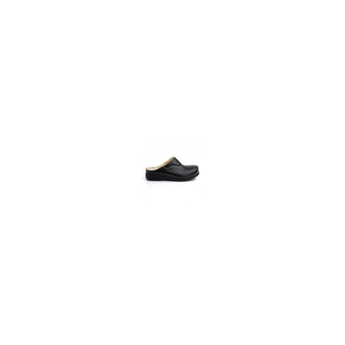 962e96f619278 BATZ Dámske zdravotné šľapky FC04 Black | topanky.sk